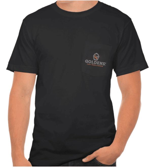 Goldens' Cast Iron Cooker Pocket T-Shirt